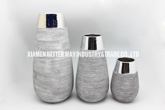 Indoor home decoration ceramic vase